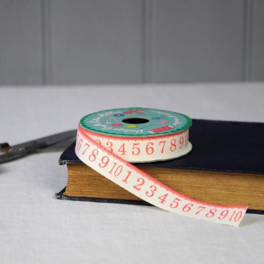 Vintage Crafts Cotton Ribbon Tape Measure
