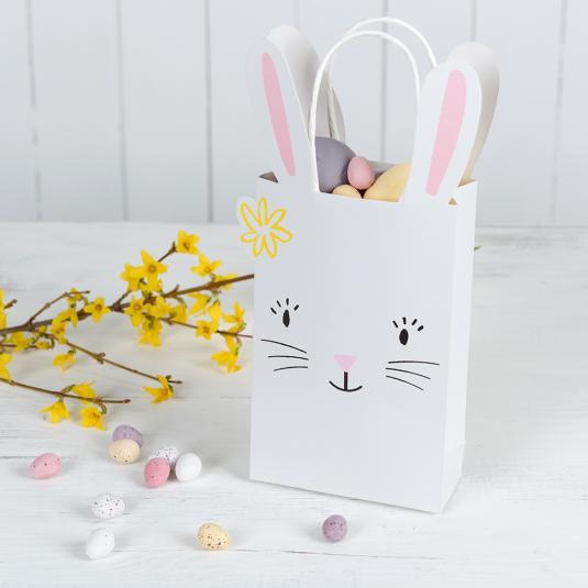 White Easter Bunny Bag