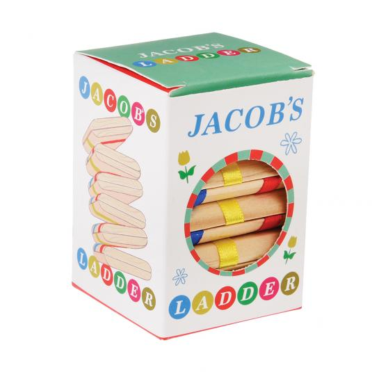Wooden Jacobs Ladder Toy in a Retro Style Box