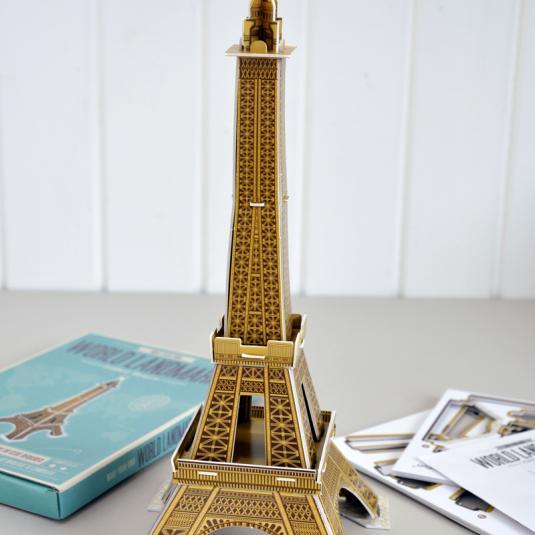 Eiffel Tower 3D Puzzles