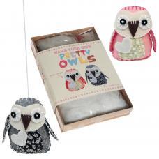 Make Your Own Feltcraft Pretty Owls Craft Kit