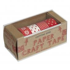 Pack 4 Scandi Chic Paper Washi Tapes