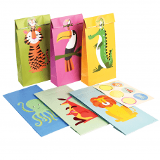 Colourful Creatures Party Bags (set Of 6) f34a94f33429b