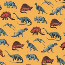 Comic Book Dinosaurs Gift Wrap