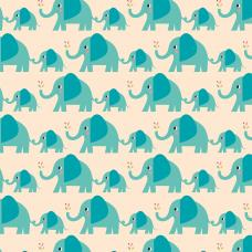 Elvis The Elephant Wrapping Paper