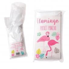 Flamingo Bay disposable Poncho
