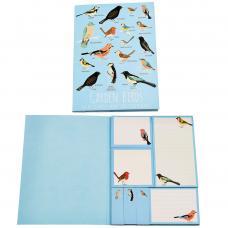 Garden Birds Sticky notes and Memo Pads