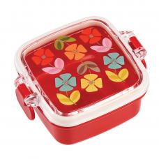 Mid Century Poppy Floral Mini Snack Box