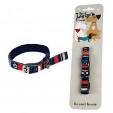 Small Stripy Dog Collar