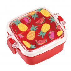 Tropical Fruits - pineapple and watermelon print Mini Snack Box