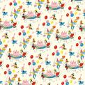 Vintage Birthday Party Wrapping Paper