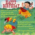 Jack And Jill Birthday Card