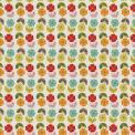 Retro Floral Wrapping Paper