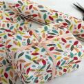 Leaves Print Wrapping Paper