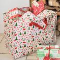 50's Christmas Design Jumbo Storage Bag