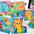 Animal Felt Picture Kit for toddlers
