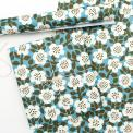 Set of five sheets of Astrid Olive wrapping paper