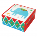 Big Top Circus puzzle blocks for toddlers (set of 4)