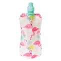 Flamingo Bay Foldable Water Bottle