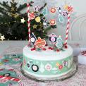 Christmas Cake bunting kit