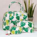 Palm Leaf Make Up Bag