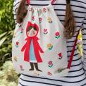 Red Riding Hood Childrens Drawstring Bag