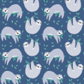 Sydney The Sloth wrap. Set of 5 sheets in a tube