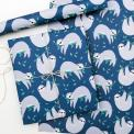Five sheets of Sydney The Sloth Wrapping Paper