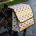 Tulip Bloom Floral Bicycle Pannier