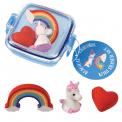 Unicorn Mini Eraser set