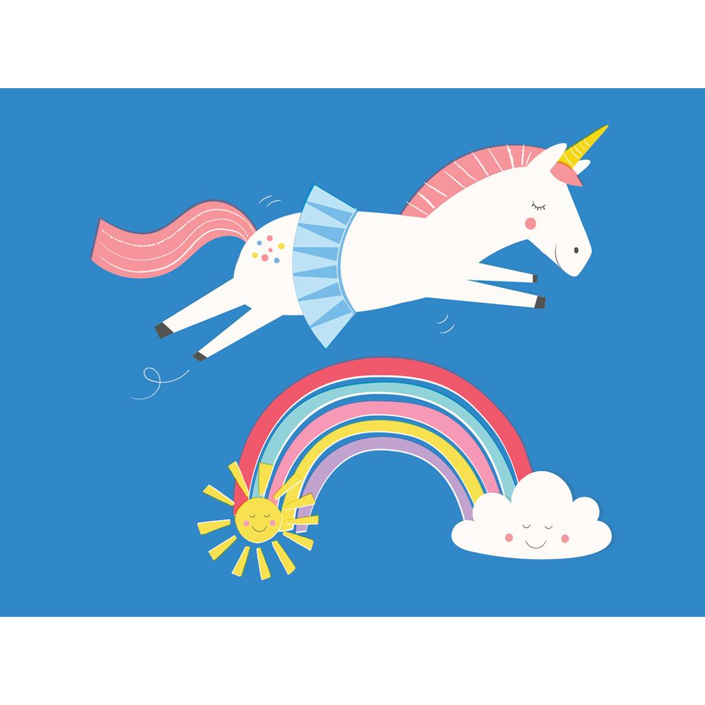 Unicorn Card Rex London Dotcomgiftshop